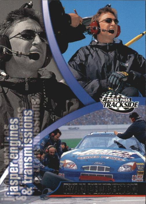 2000 Press Pass Trackside #53 Ryan Pemberton