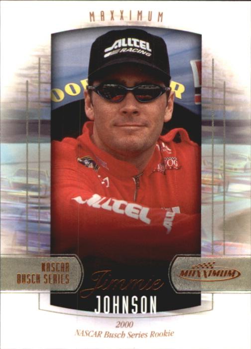 2000 Maxximum #38 Jimmie Johnson RC