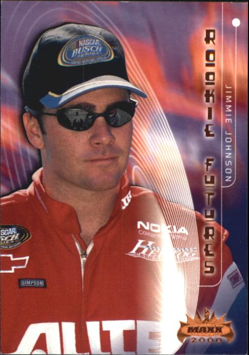 2000 Maxx #60 Jimmie Johnson RF RC