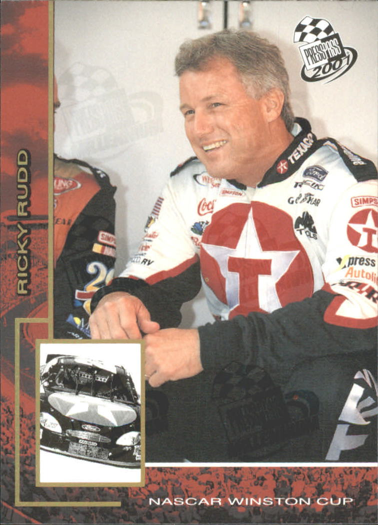 2001 Press Pass Millennium #5 Ricky Rudd