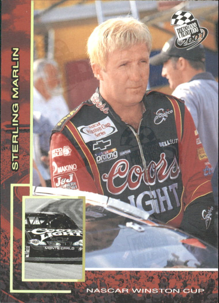 2001 Press Pass Millennium #18 Sterling Marlin
