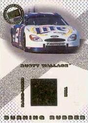 2001 Press Pass Burning Rubber Cars #BRC2 Rusty Wallace/105