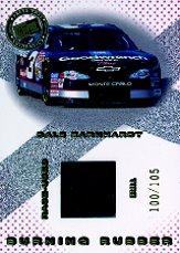 2001 Press Pass Burning Rubber Cars #BRC3 Dale Earnhardt/105