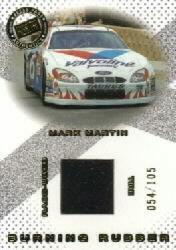2001 Press Pass Burning Rubber Cars #BRC6 Mark Martin/105