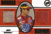 2001 Press Pass Double Burner #DB1 Jeff Gordon
