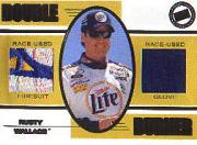 2001 Press Pass Double Burner #DB2 Rusty Wallace