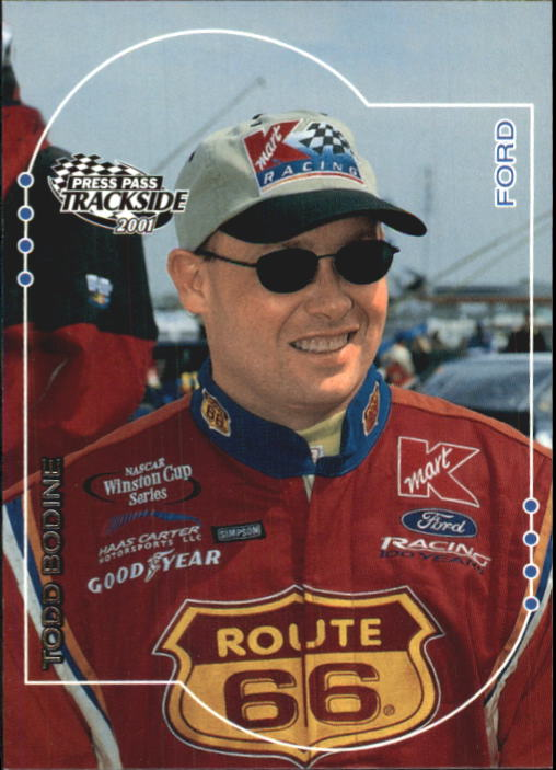 2001 Press Pass Trackside #16 Todd Bodine