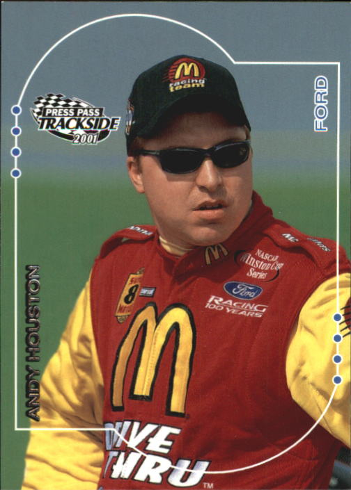 2001 Press Pass Trackside #20 Andy Houston