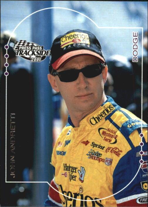2001 Press Pass Trackside #30 John Andretti
