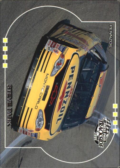 2001 Press Pass Trackside #39 Steve Park's Car