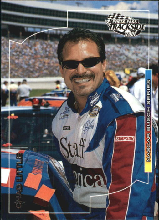 2001 Press Pass Trackside #56 Chad Little