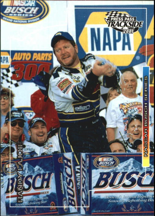 2001 Press Pass Trackside #60 Randy LaJoie