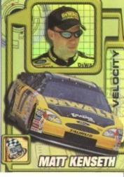 2001 Press Pass Velocity #VL4 Matt Kenseth