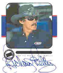 2001 Press Pass Signings #43 Richard Petty V/S