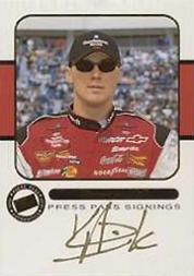 2001 Press Pass Signings Gold #14 Kevin Harvick WC V/S