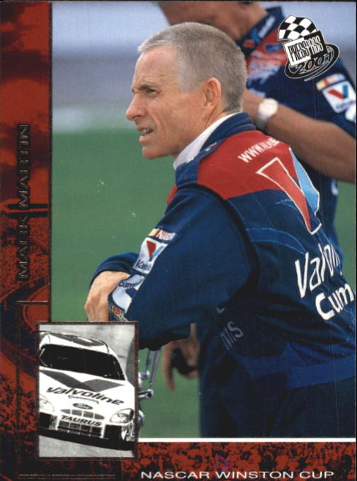 2001 Press Pass #8 Mark Martin
