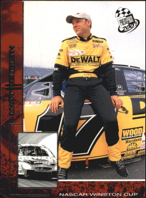 2001 Press Pass #13 Matt Kenseth