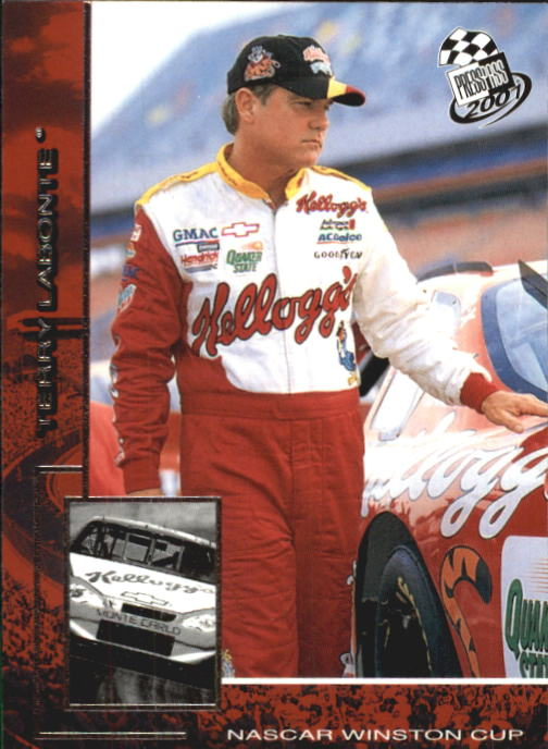 2001 Press Pass #16 Terry Labonte