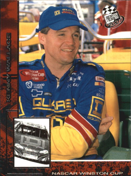 2001 Press Pass #24 Kenny Wallace