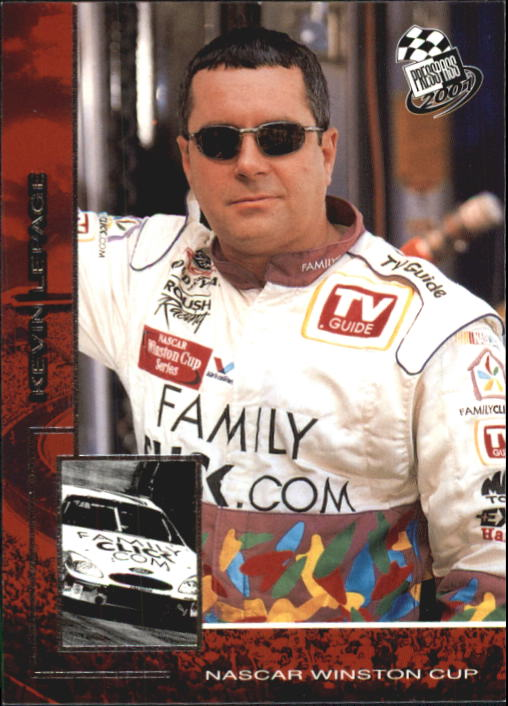 2001 Press Pass #25 Kevin Lepage