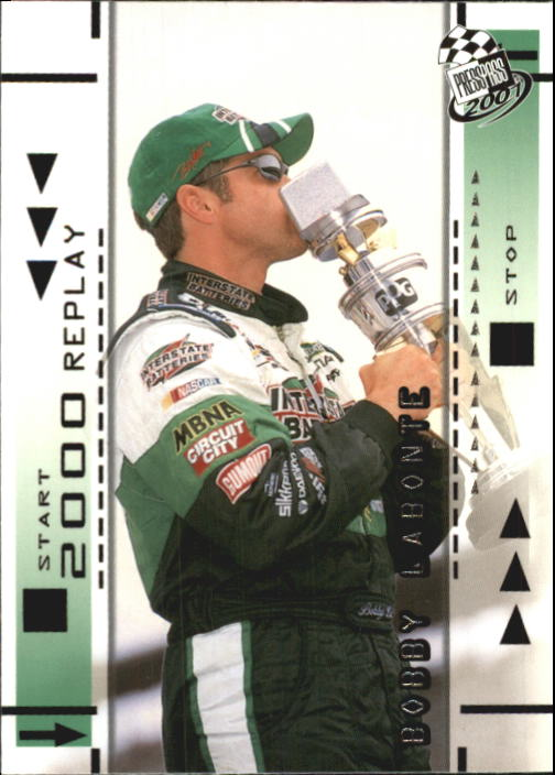 2001 Press Pass #63 Bobby Labonte REP