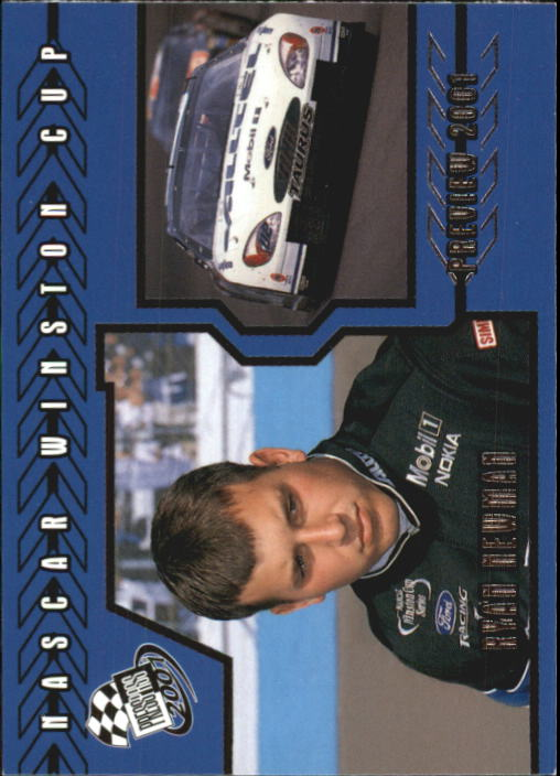 2001 Press Pass #96 Ryan Newman PV RC