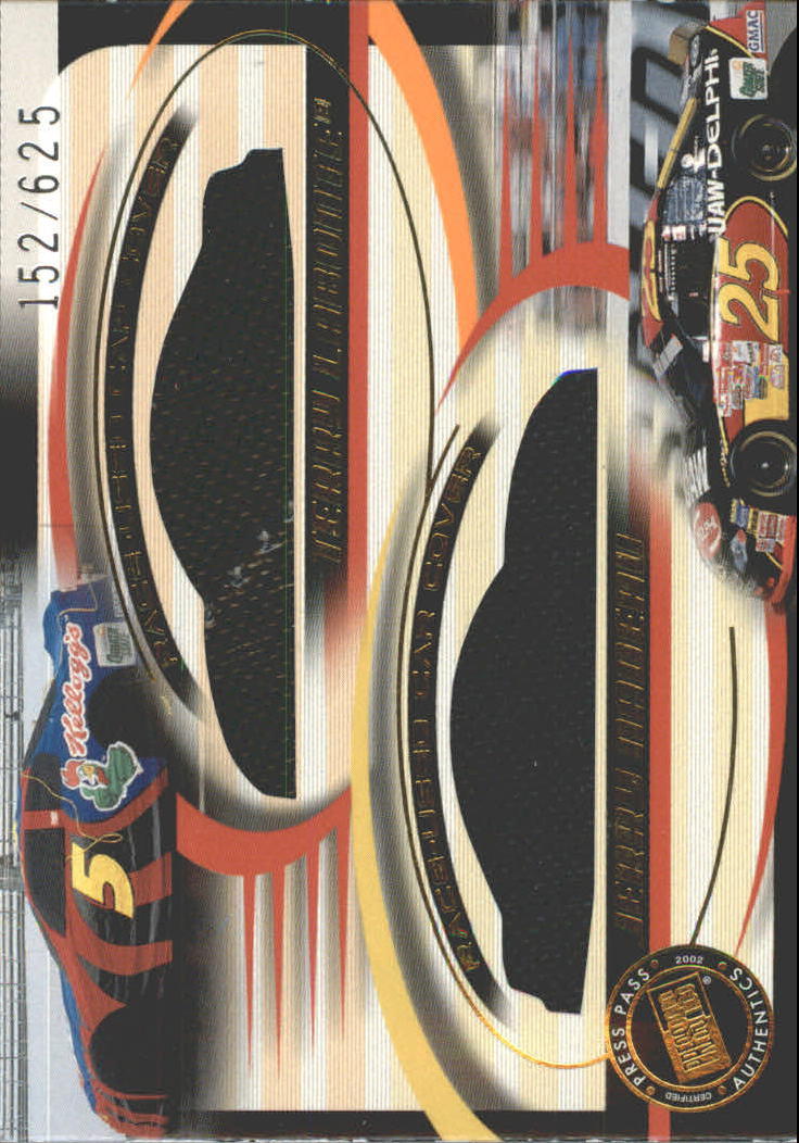 2002 Press Pass Eclipse Under Cover Double Cover #DC6 Terry Labonte/Jerry Nadeau