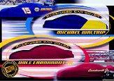2002 Press Pass Eclipse Under Cover Double Cover #DC8 Dale Earnhardt Jr./Michael Waltrip