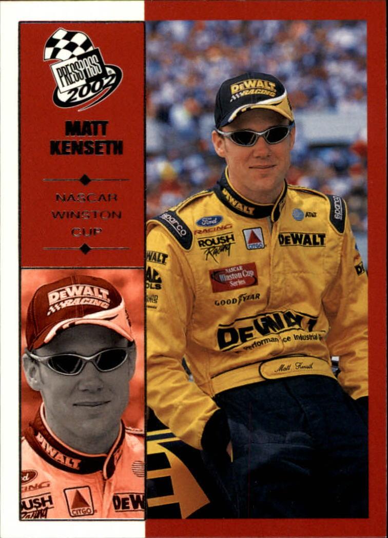 2002 Press Pass #17 Matt Kenseth