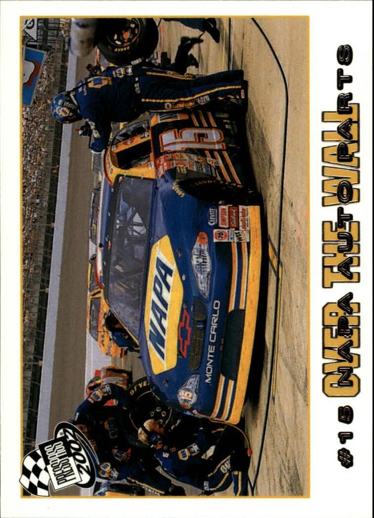 2002 Press Pass #78 Michael Waltrip's Car