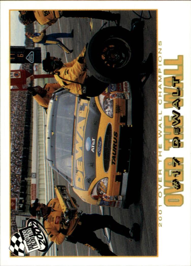 2002 Press Pass Platinum #79 Matt Kenseth's Car