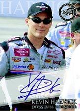 2002 Press Pass Autographs #26 Kevin Harvick