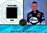 2002 Press Pass Burning Rubber Drivers #BRD7 Mark Martin