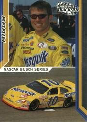 2002 Press Pass Trackside #42 Scott Riggs NBS RC