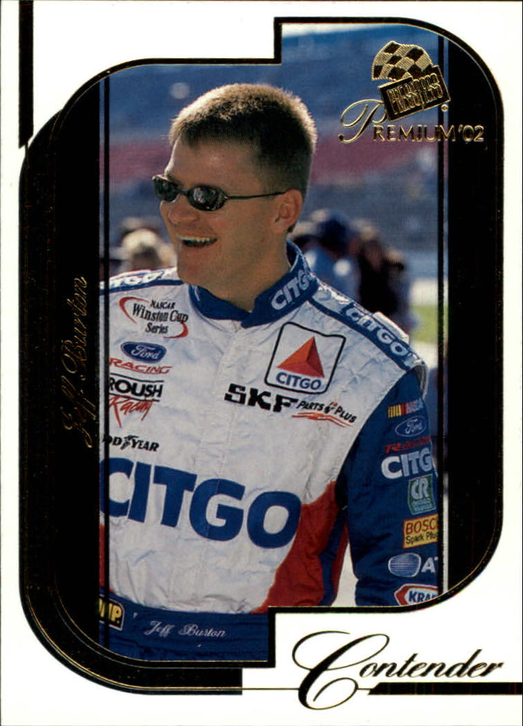 2002 Press Pass Premium #3 Jeff Burton