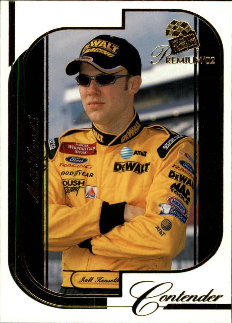 2002 Press Pass Premium #15 Matt Kenseth