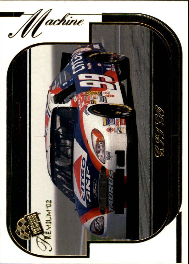 2002 Press Pass Premium #37 Jeff Burton's Car