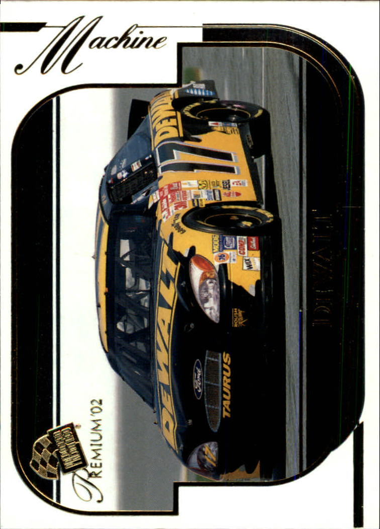 2002 Press Pass Premium #41 Matt Kenseth's Car
