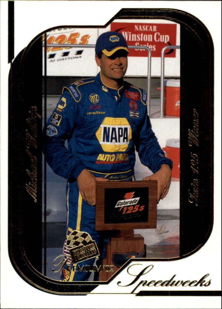 2002 Press Pass Premium #47 Michael Waltrip SW