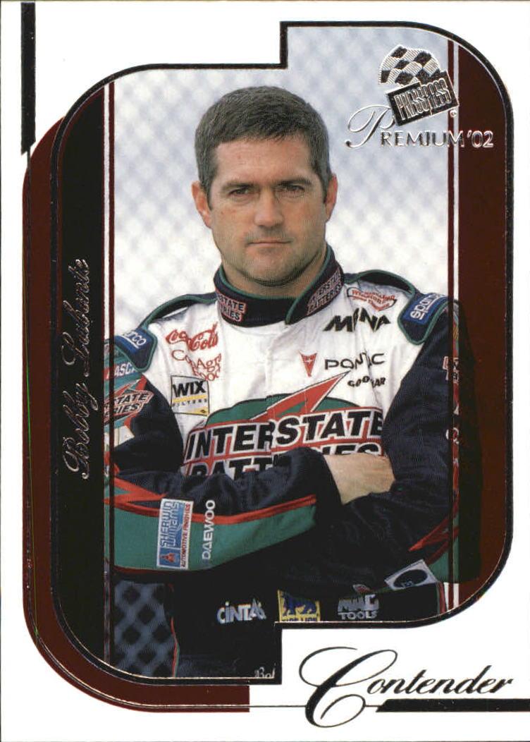 2002 Press Pass Premium Red Reflectors #16 Bobby Labonte