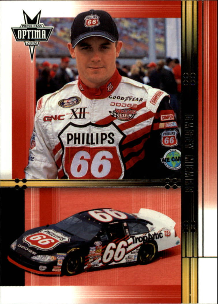 2002 Press Pass Optima #38 Casey Mears RC