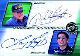 2002 Press Pass Eclipse Father and Son Autographs #FS1 A.J.Foyt/Larry Foyt