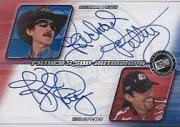 2002 Press Pass Eclipse Father and Son Autographs #FS5 Richard Petty/Kyle Petty