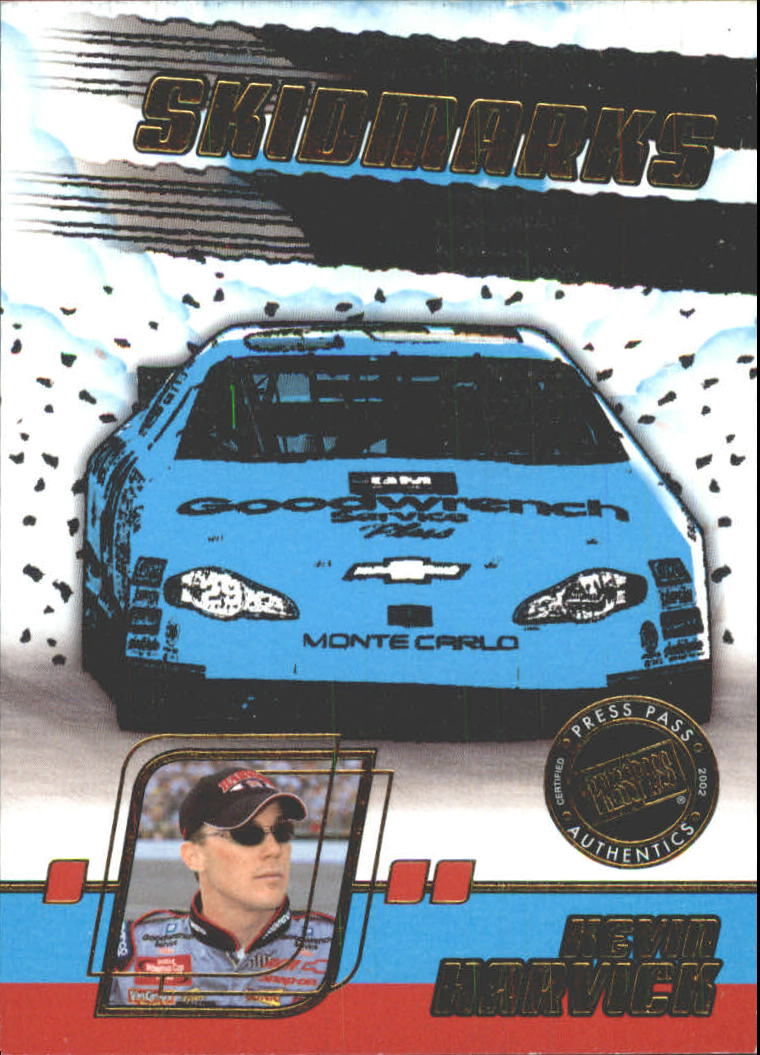 2002 Press Pass Eclipse Skidmarks #SK3 Kevin Harvick