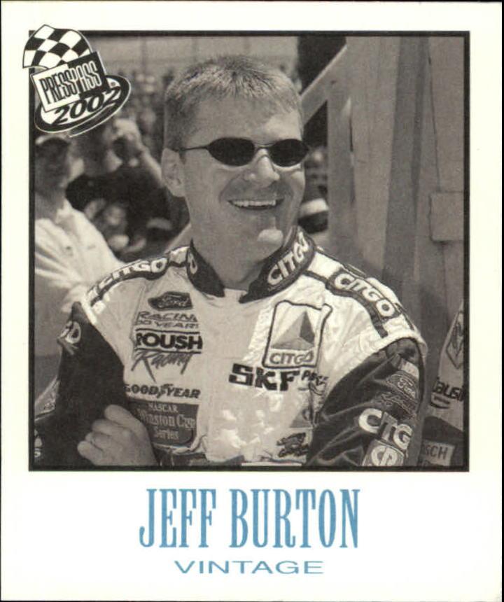 2002 Press Pass Vintage #VN3 Jeff Burton