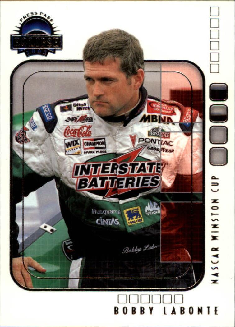 2002 Press Pass Eclipse #6 Bobby Labonte