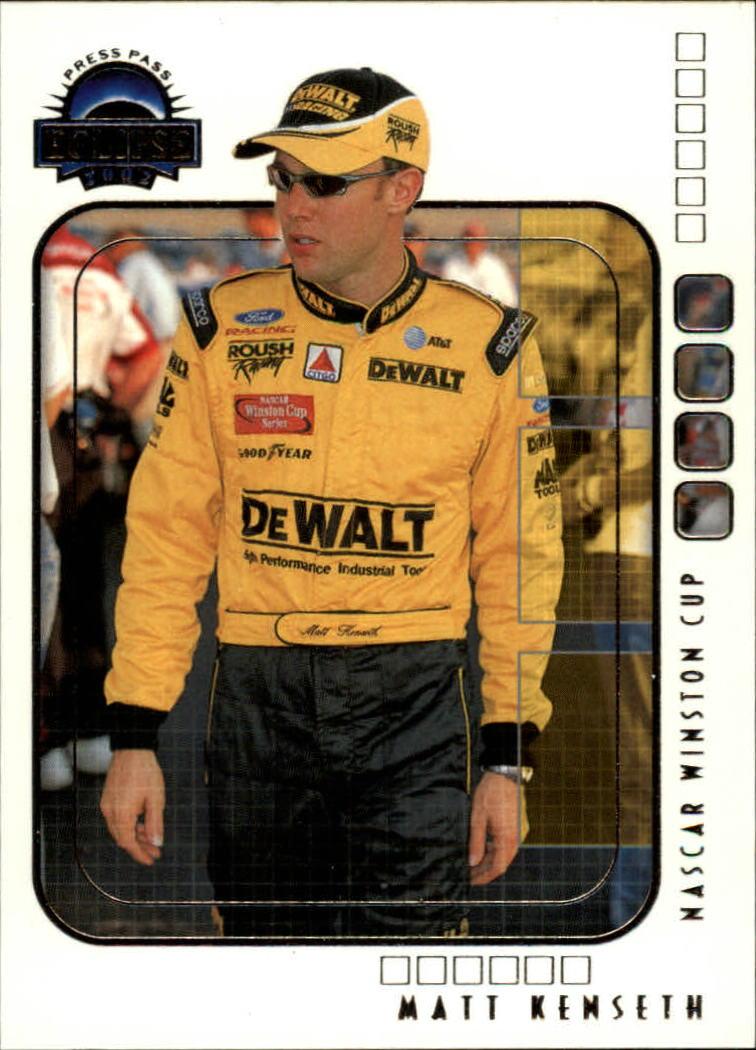 2002 Press Pass Eclipse #12 Matt Kenseth