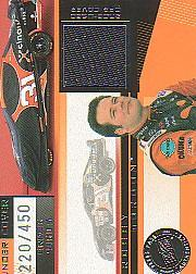 2003 Press Pass Eclipse Under Cover Driver Silver #UCD12 Robby Gordon