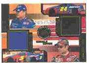 2003 Press Pass Eclipse Under Cover Double Cover #DC3 Terry Labonte/Jeff Gordon