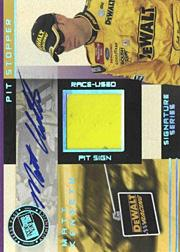 2003 Press Pass Trackside Pit Stoppers Drivers Autographs #PSDMK Matt Kenseth/17